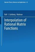 Interpolation of Rational Matrix Functions (Operator Theory