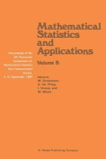 Mathematical Statistics and Applications