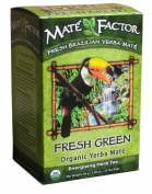 Organic Yerba Mate, Energising Herb Tea, Fresh Green, 24 Tea Bags, 90ml