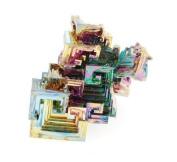Bismuth Crystal Specimen Bismuth - Medium