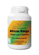 Superior Pure African Mango 2400mg per capsule x 90 caps per bottle produced in the UK. While offering almost twice the dose per cap of our competitors in the UK. A superb product with excellent results.