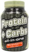 Nutrisport Protein Complex Carbohydrate Strawberry Powder 1.4Kg
