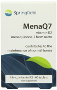 MenaQ7 Vitamin K2 60 Capsules