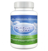 PURIFLUSH ULTRA - The All-Natural, Complete Colon Cleansing Supplement - Intestinal Cleanse and Detox Formula