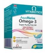 Vitabiotics Aquamarine Omega 3 Super Potency - 60 Caps