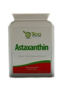 Astaxanthin 4mg 60 Soft Gel Capsules - Natural High Grade Strain Haematococcus Pluvialis Sourced In New Zealand
