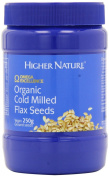 Higher Nature Organic Cold Milled Flax Seed 250g