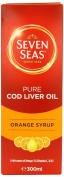 Seven Seas Orange Syrup and Cod Liver Oil 300ml