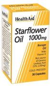 HealthAid Starflower Oil 1000mg (23% GLA) - 30 Capsules