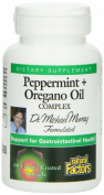 Natural Factors Peppermint & Oregano Oil Complex, 60 Softgels