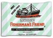 Fisherman's Friend Lozenges Mint Sugar-Free with Sweeteners 25g