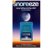 Snoreeze Oral Strips 14