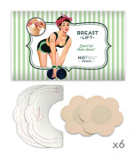 Moyou Adhesive Uplifting Bra Pushup Strapless 30cm a pack!!! Breast Lift - 6 Pairs Free Cover Pads