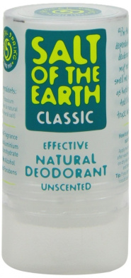 Crystal Spring Salt of the Earth Organic Classic Deodorant 90g Pack of 2