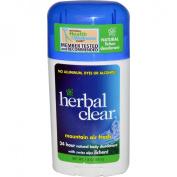 Herbal Clear 24 Hour Natural Body Deodorant, Mountain Air Fresh - 50ml