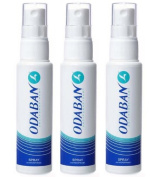 Odaban Spray 3 x 30ml Triple Pack - Stop Sweating!