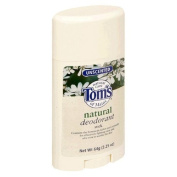 Tom's of Maine Unscented Deodorant Stick (Pack of 6) 60 ml