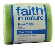 Faith in Nature 100g Unfragranced Rosemary Soap