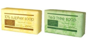 200G Sulphur Soap and Tea Tree Soap 5.1cm 1