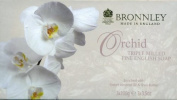 Bronnley Orchid English Soap 3 x 100g