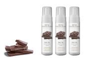 Suntana Spray Tan Chocolate 'Dark' Self-Tan Mousse - 3pk