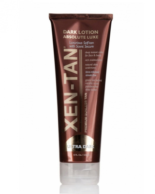 Xen-Tan Dark Lotion Absolute LUXE - Premium Sunless Tan with Scent Secure - 236ml
