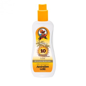 Australian Gold SPF10 Very Water Resistant Clear Gel Spray 237ml