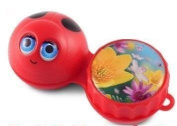 Funky Ladybird 3D Contact Lens Storage Soaking Case