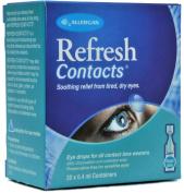 Refresh Contact Eye Drops 20 X 0.4ml