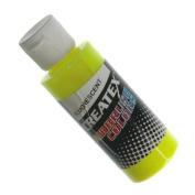 Createx 60 ml Paint, Fluorescent Yellow