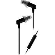 HF3 Balanced Armature In- Ear Earphones with 3 Button Headset Microphone Control