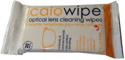 Calo wipe optical glasses spectacle lens cleaning wipes by calotherm