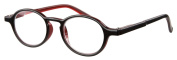 Sight Station Sinclair Black Reading Glasses Strength 1.5