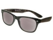 GL2081BRNP Goodlookers +3.0 Dakota Black Paisley Sun Readers Reading Glasses