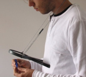 Remos reading magnifying glass hands free with neck cord, 2x with LED lighting, ~ 110 mm