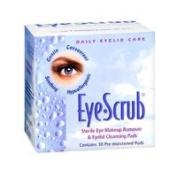 Eye Scrub Sterile Eye Makeup Remover & Eyelid Cleansing Pads 30 ea