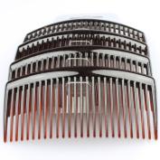 Hair Accessories Hair Combs Hair Slides 4 Pack Of Black Tort Or Clear 8Cm Hair Comb