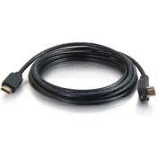 15m HDMI Cable with 90° Downward-angled Male Connector