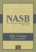 NASB Side-Column Reference Wide Margin Bible; Black Leathertex