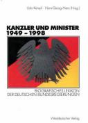 Kanzler Und Minister 1949 1998