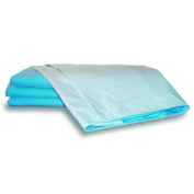 Community White Washable Stay Dry Single Bed Pad (70x85cm) With Tuck In Flaps