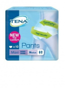 Tena Pants Maxi - Size Medium x 10