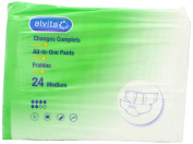 Alvita Incontinence All in One Medium Extra Day Pants Pack of 24