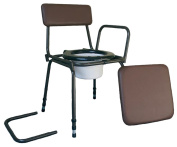 Aidapt Surrey Adjustable Commode Chair