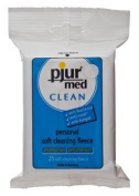 pjur® med CLEAN Fleece, quick and hygenic cleaning, single sachet