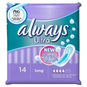 Always Ultra Pads Long 4 x 14 Pads