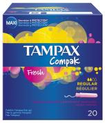 Tampax Compak Fresh Regular x 20