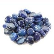blue banded agate 20-30mm crystal tumblestone