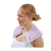 Aroma Home Soothing You Microwaveable Lilac Neck Warmer
