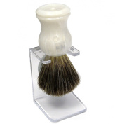 Shaving Brush HJM with pure badger - mother of pearl